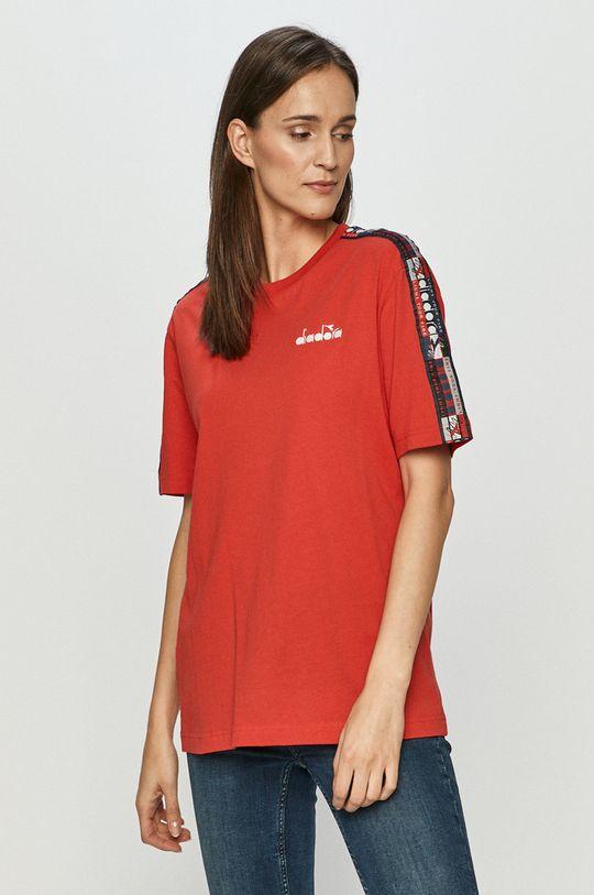 červená Diadora - Tričko Unisex