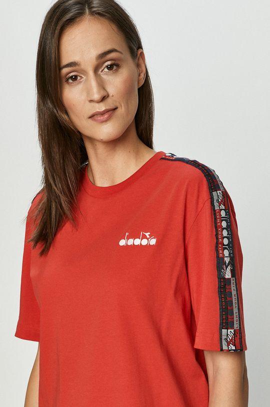 červená Diadora - Tričko