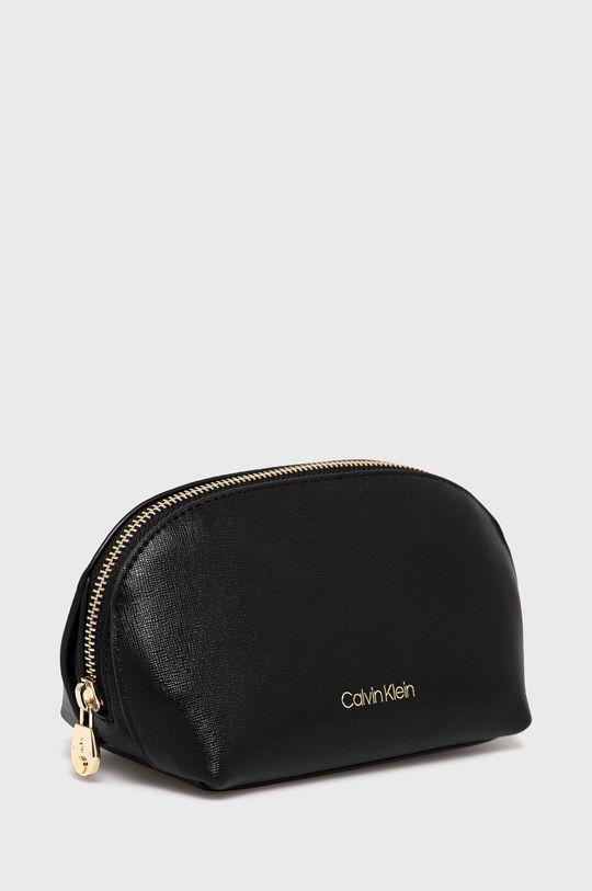 Calvin Klein - Kozmetická taška čierna