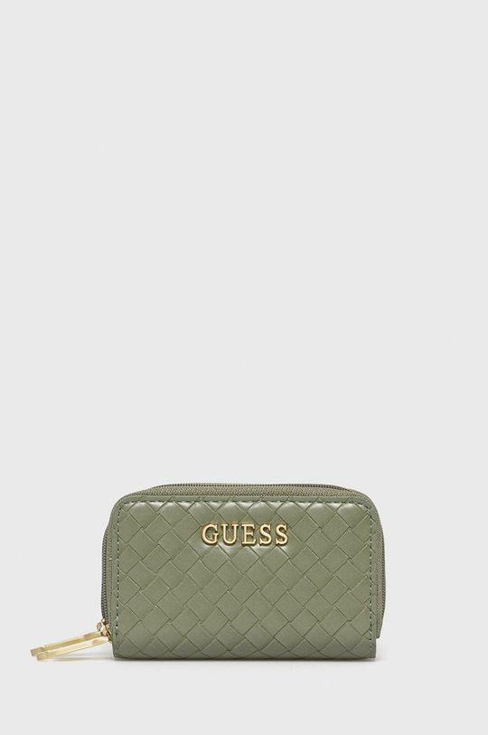blady zielony Guess - Portfel Damski