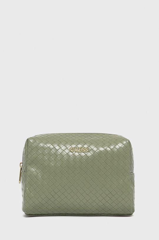 světle zelená Guess - Kosmetická taška Dámský