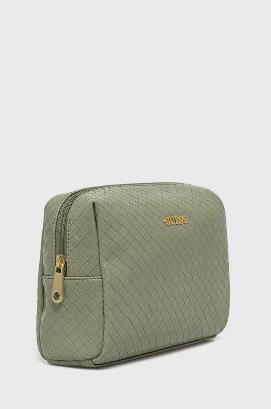 Guess - Kosmetická taška světle zelená