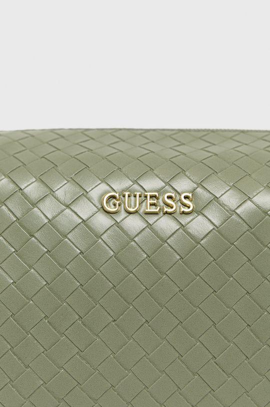 Guess - Kosmetická taška  Podšívka: 100% Polyester Hlavní materiál: 100% Polyuretan