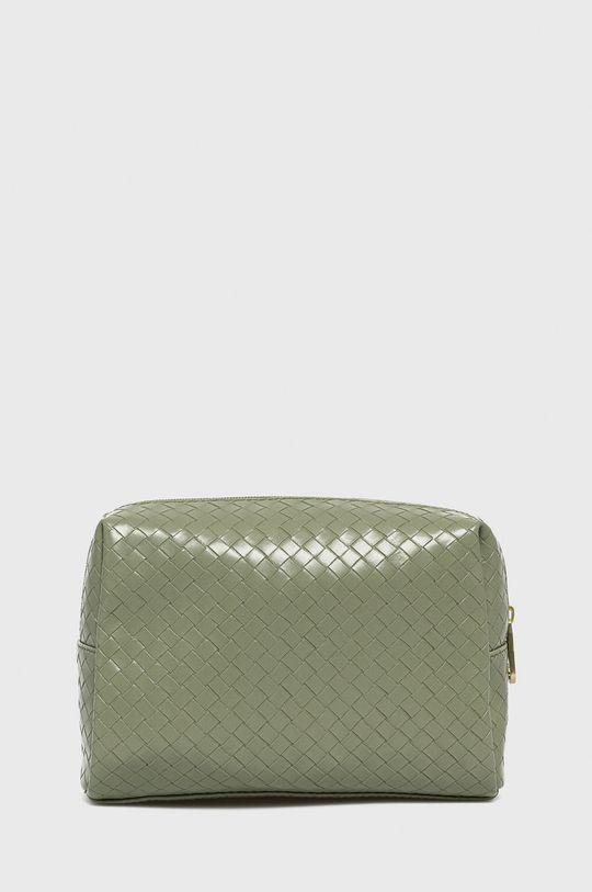 světle zelená Guess - Kosmetická taška