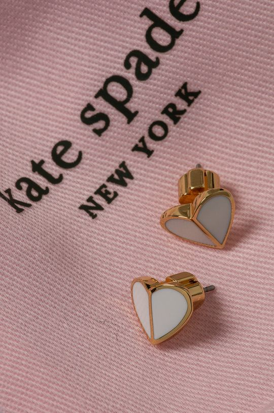 Kate Spade - Náušnice biela