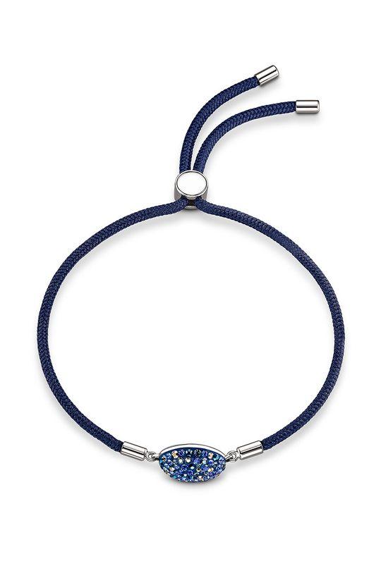 Swarovski - Bransoletka SWAPOWER stalowy niebieski