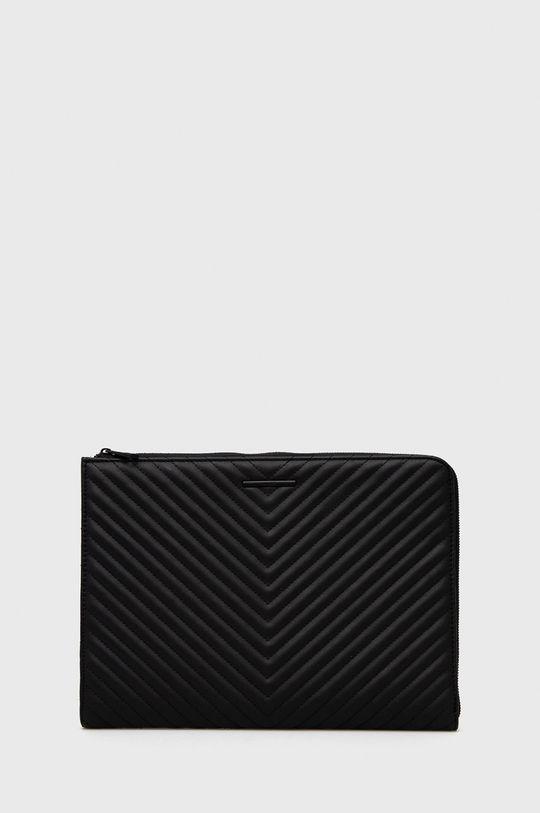 czarny Aldo - Pokrowiec na laptopa Damski