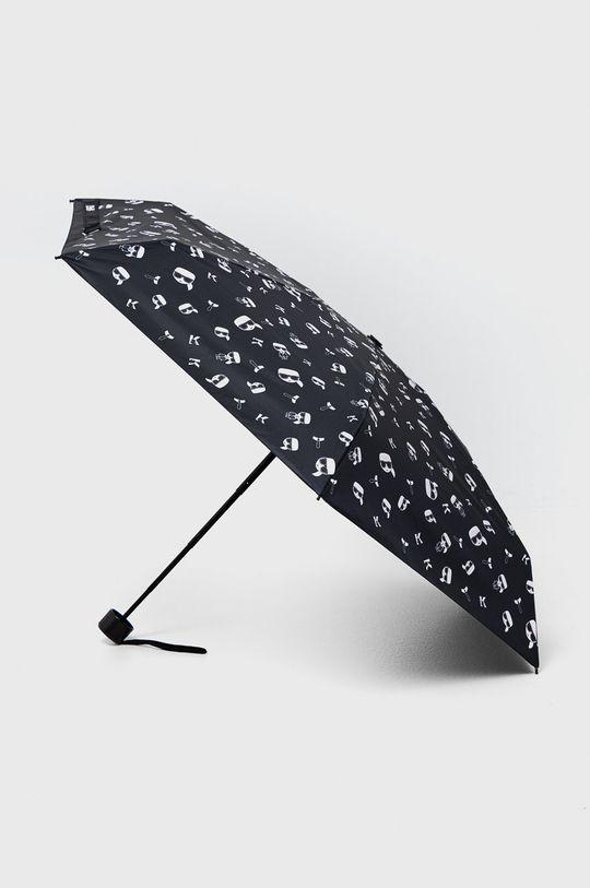 czarny Karl Lagerfeld - Parasol Damski