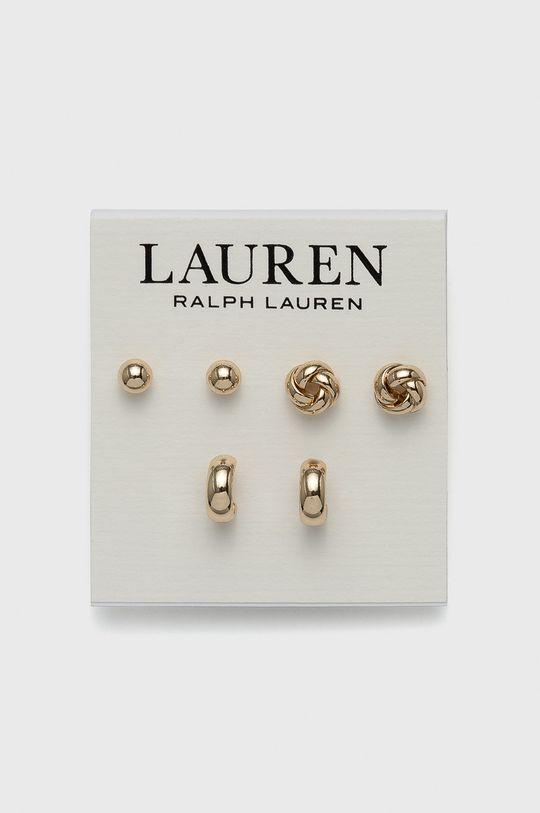 złoty Lauren Ralph Lauren - Kolczyki (3-pack) Damski