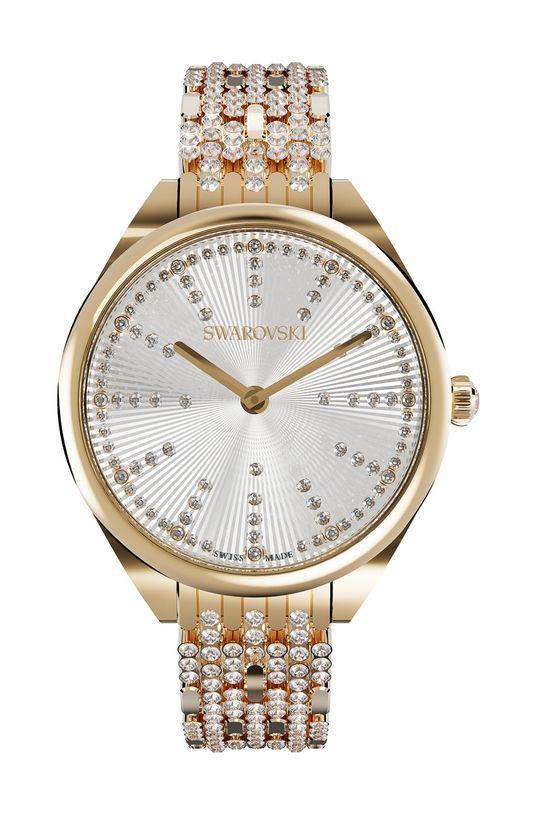 srebrny Swarovski - Zegarek ATTRACT Damski
