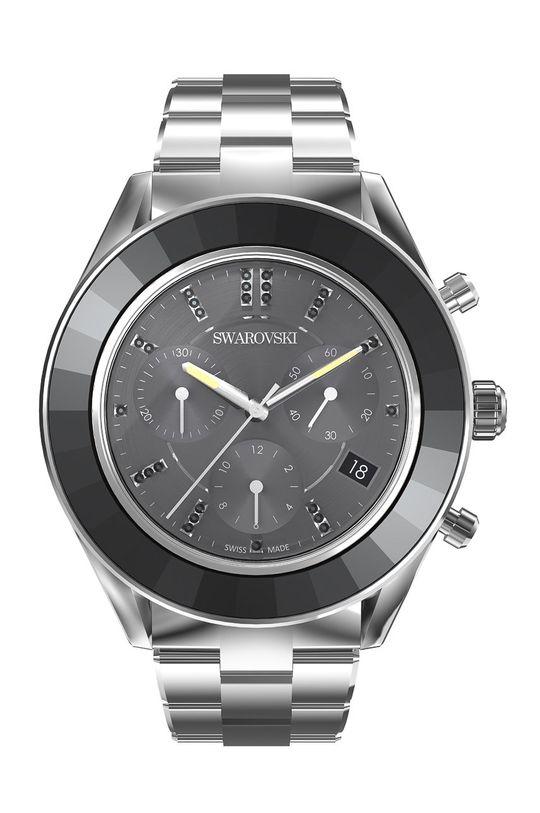 srebrny Swarovski - Zegarek OCTEA LUX SPORT Damski