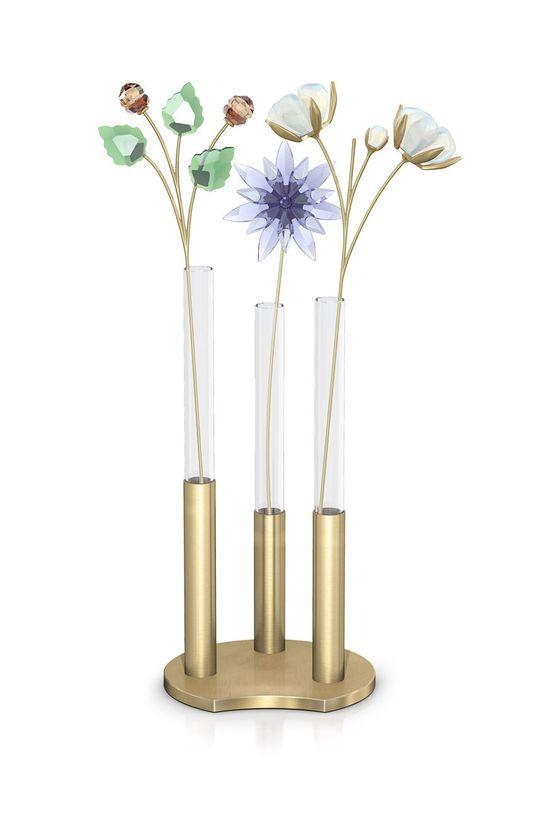Swarovski - Kwiat dekoracyjny z kryształów GARDEN TALES - COTTON biały