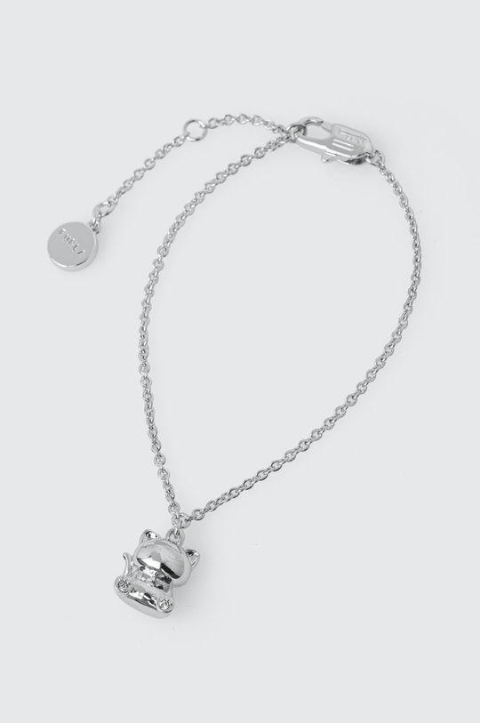 srebrny Furla - Bransoletka Catmania Damski