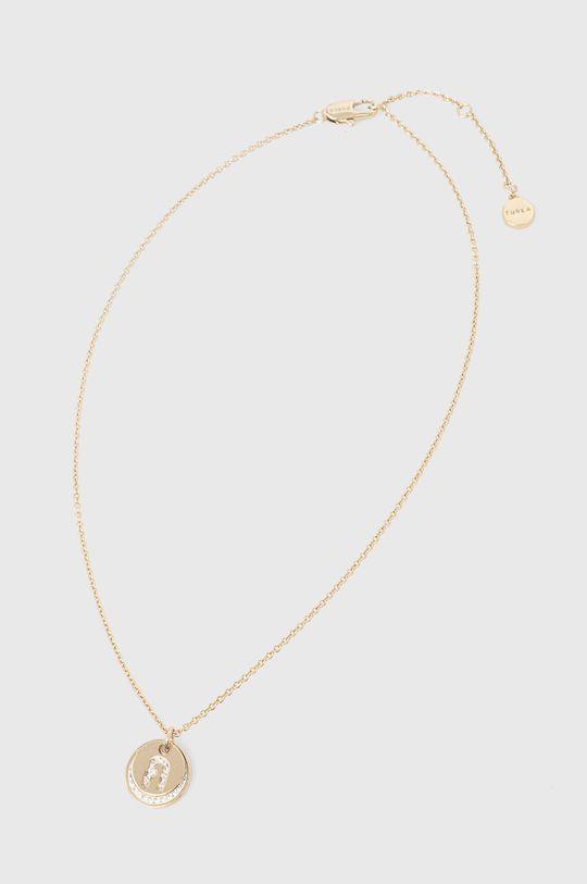 złoty Furla - Naszyjnik Beads Damski