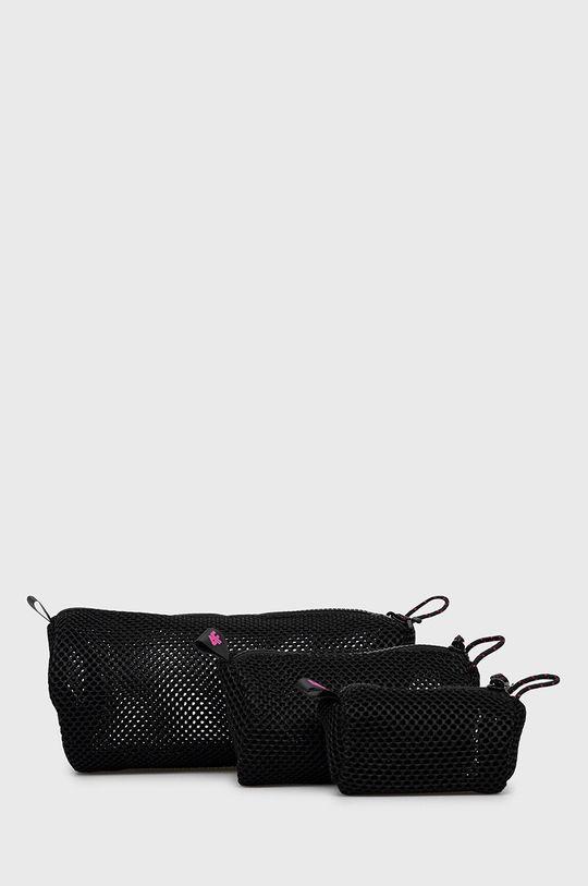czarny 4F - Kosmetyczka (3-pack) Damski
