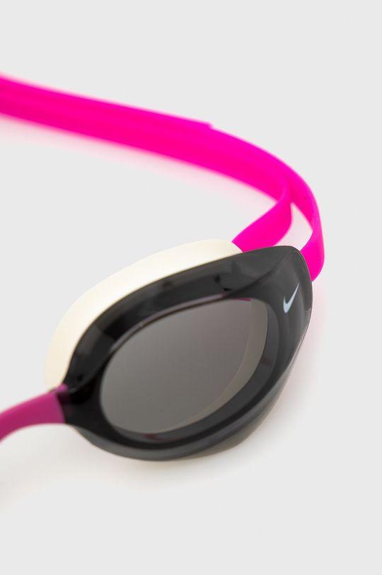 Nike - Okulary pływackie ostry różowy