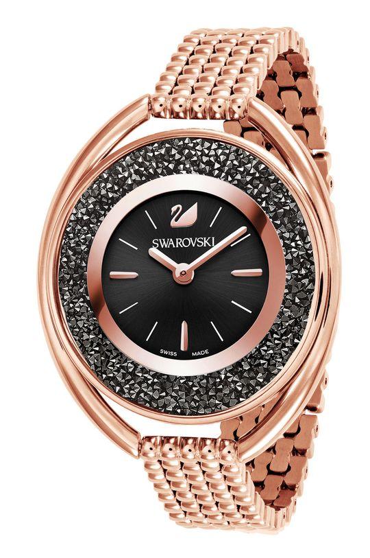 złoty Swarovski - Zegarek Crystalline Damski