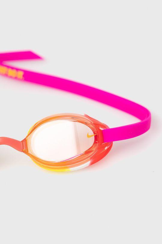 Nike Kids - Okulary pływackie dziecięce fuksja