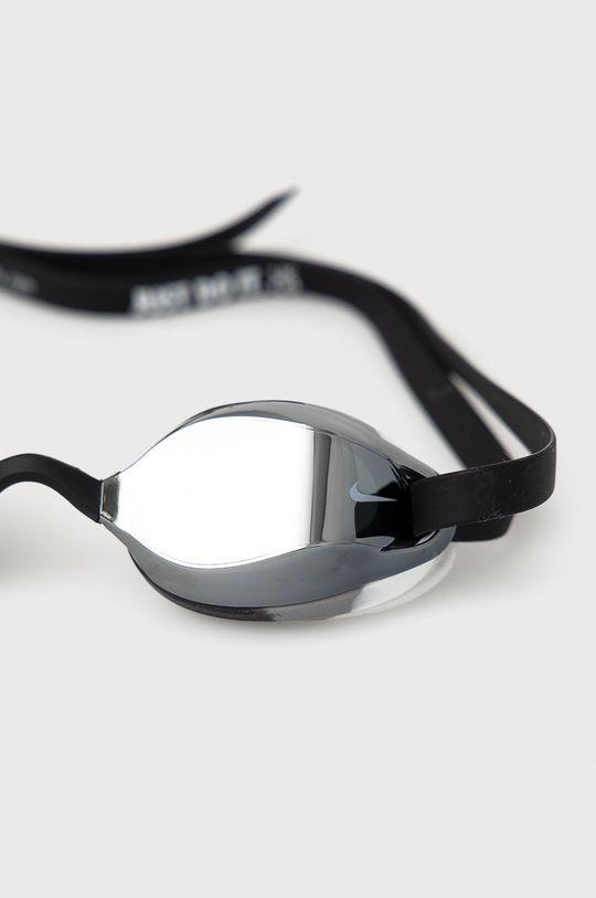 Nike Kids - Okulary pływackie dziecięce srebrny