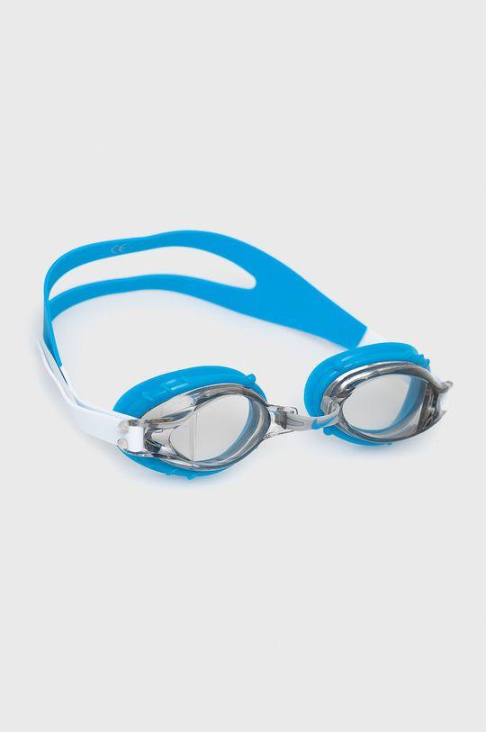 szary Nike Kids - Okulary pływackie dziecięce Dziecięcy