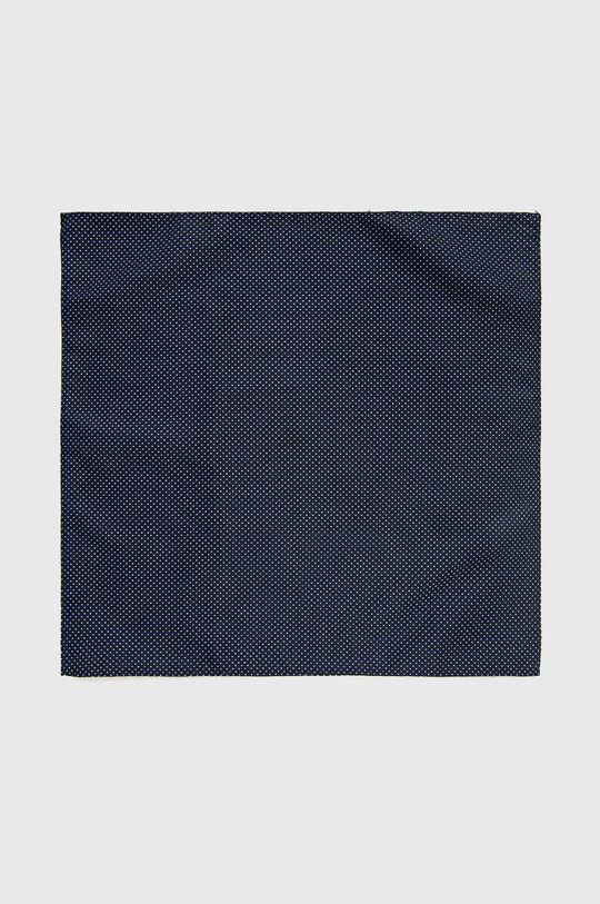 granatowy Jack & Jones - Zestaw krawat, mucha i poszetka