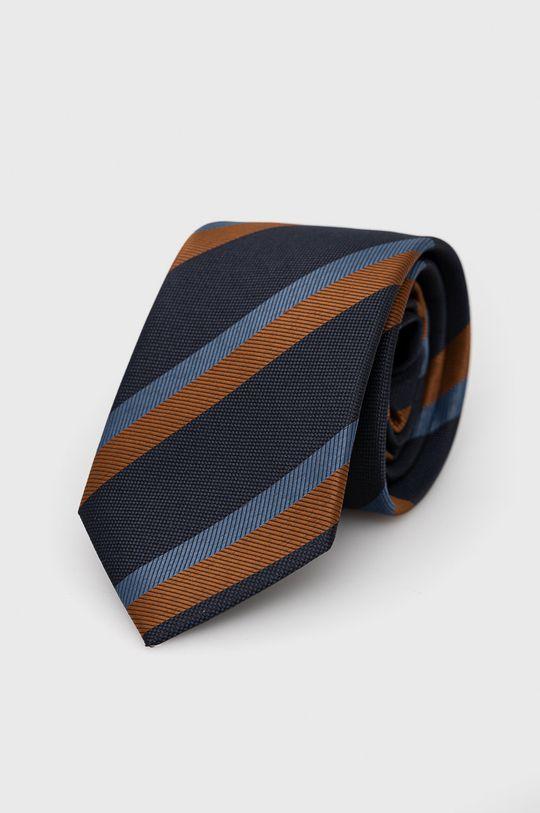 Jack & Jones - Krawat i poszetka beżowy