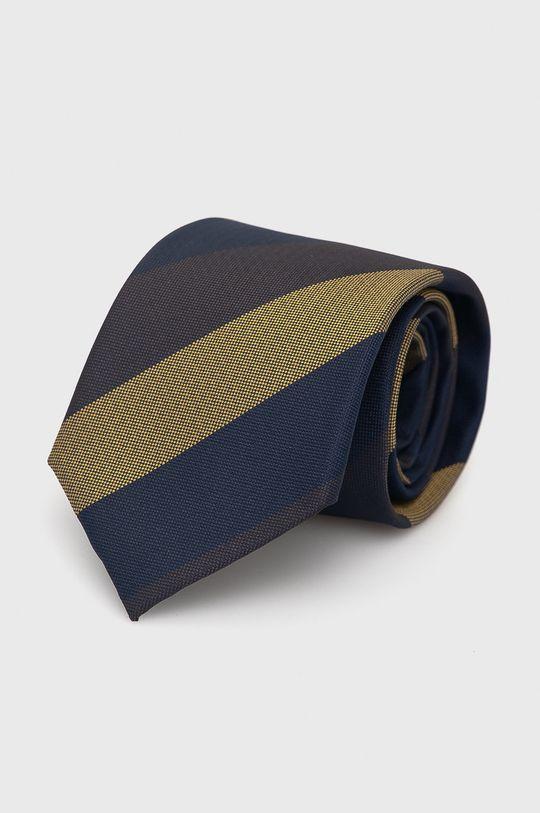 Jack & Jones - Krawat i poszetka granatowy