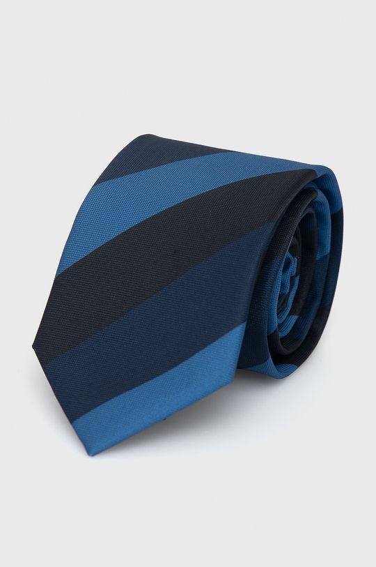 Jack & Jones - Krawat i poszetka czarny