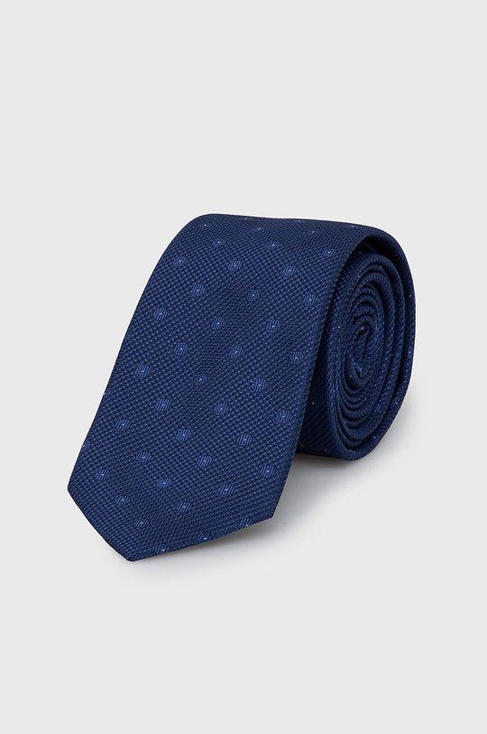 granatowy Calvin Klein - Krawat Męski