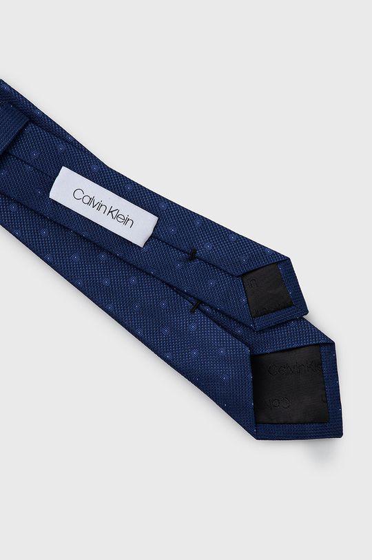 Calvin Klein - Krawat granatowy