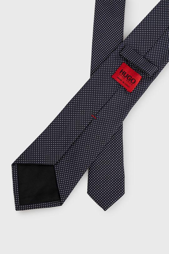 Hugo - Krawat granatowy