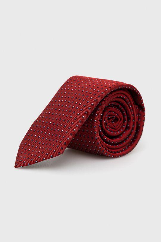czerwony Hugo - Krawat Męski