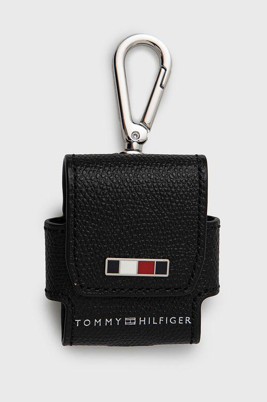 černá Tommy Hilfiger - Pouzdro na sluchátka Pánský