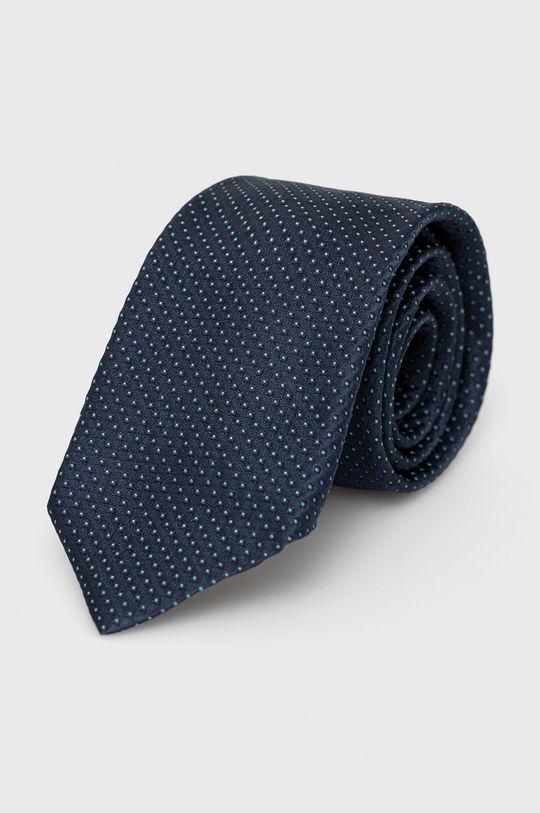 granatowy Boss - Krawat Męski