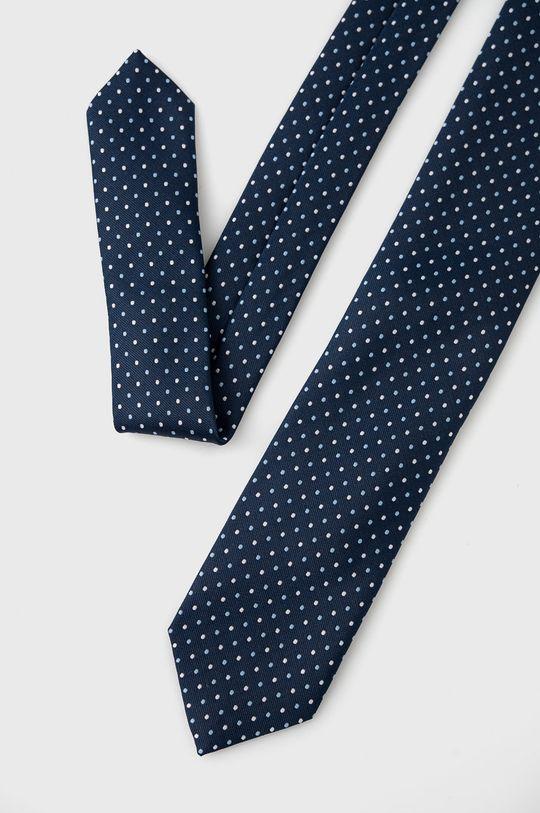 Boss - Krawat granatowy