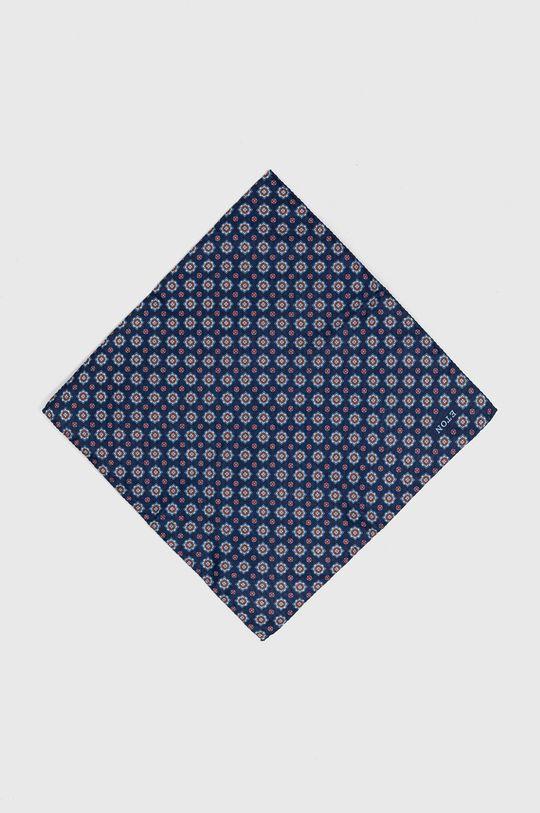 niebieski ETON - Poszetka Męski