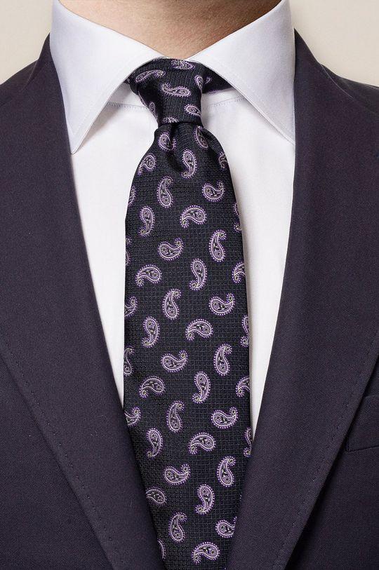 ETON - Krawat ciemny fioletowy