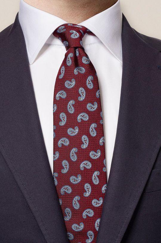 ETON - Krawat karminowy