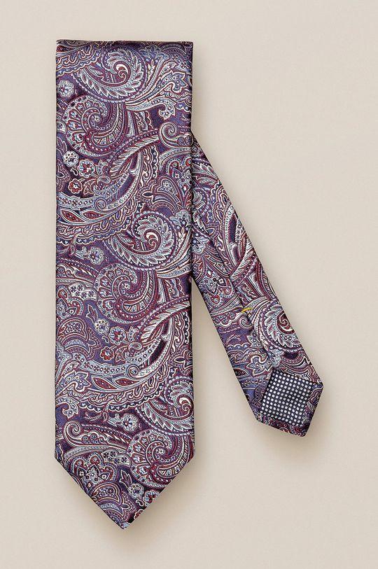 purpurowy ETON - Krawat Męski