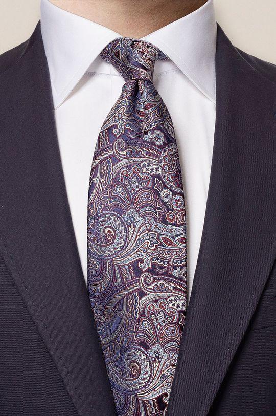 ETON - Krawat purpurowy