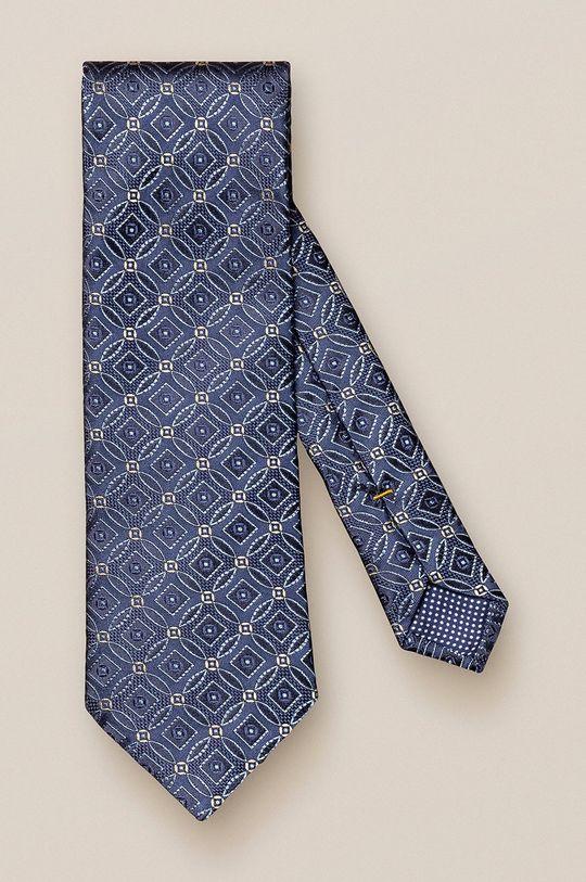 niebieski ETON - Krawat Męski