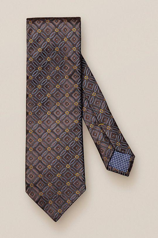 brązowy ETON - Krawat Męski