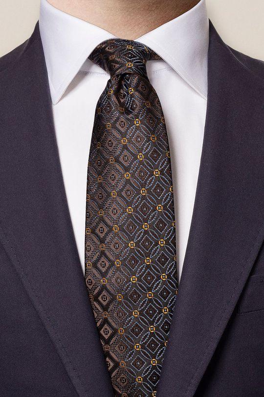 ETON - Krawat brązowy