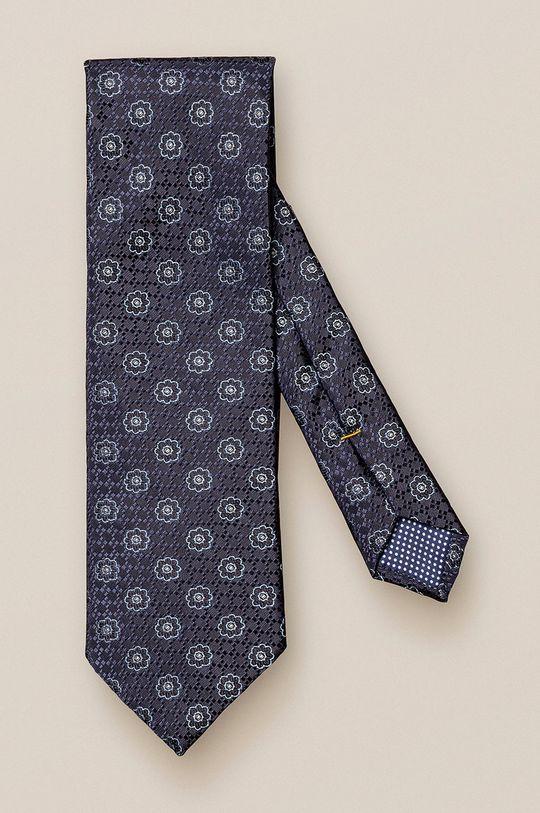 czarny ETON - Krawat Męski