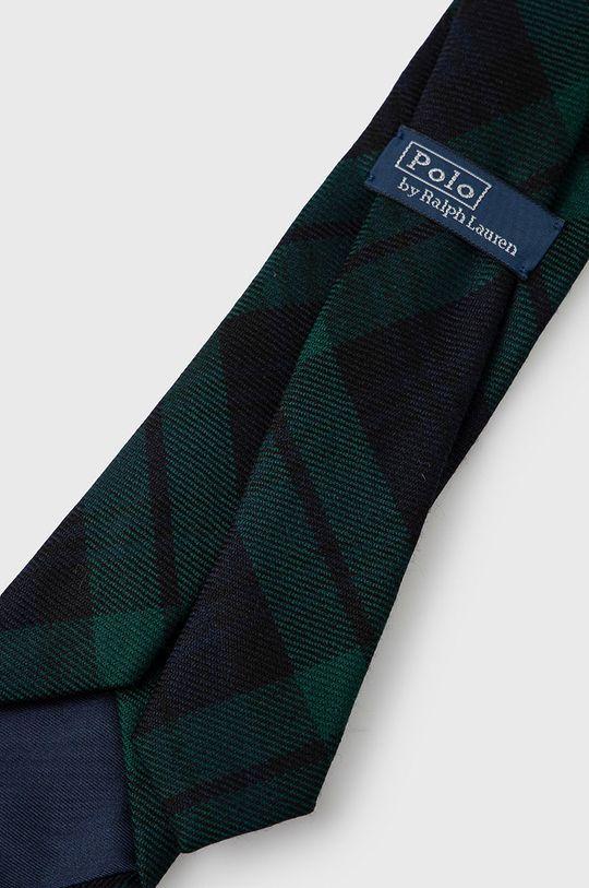 Polo Ralph Lauren - Krawat wełniany granatowy