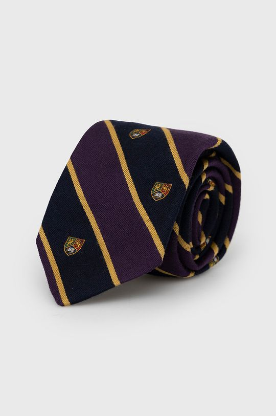purpurowy Polo Ralph Lauren - Krawat Męski