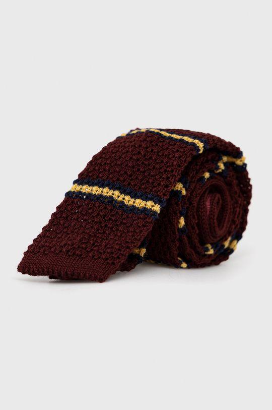 kasztanowy Polo Ralph Lauren - Krawat wełniany Męski