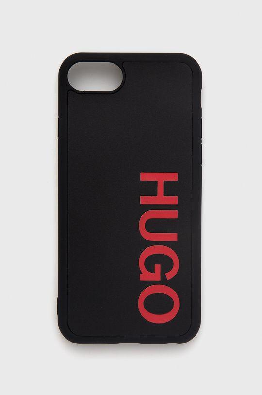 czarny Hugo - Etui na telefon iPhone 8/7/SE Unisex