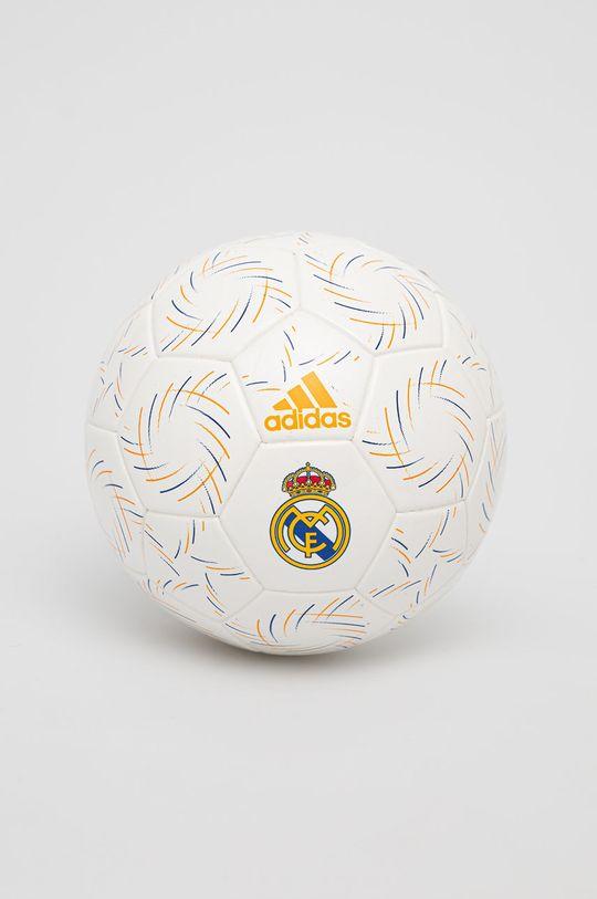 biały adidas Performance - Piłka Real Madryt Mini Unisex