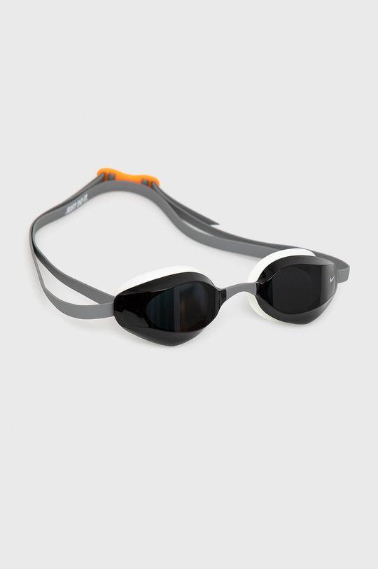 szary Nike - Okulary pływackie Unisex